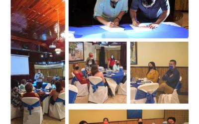 Cooperativas firman convenio para fortalecer sus proyectos